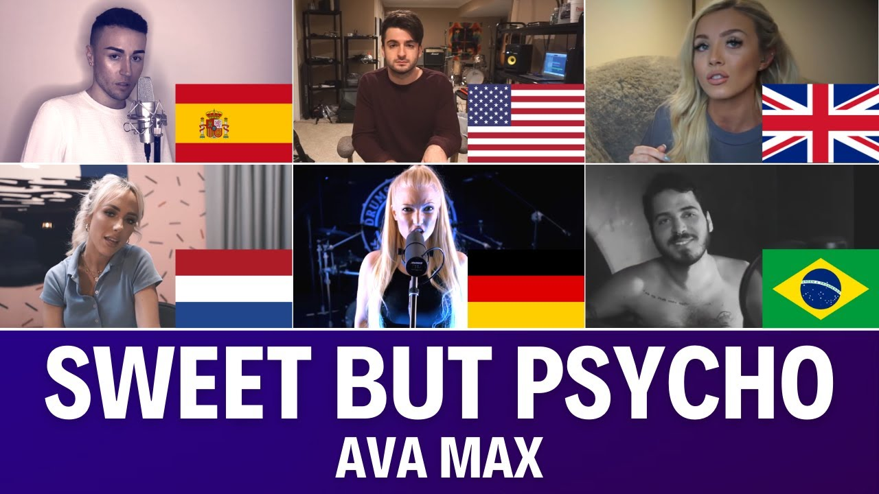 Quem Canta Melhor? Cover Sweet But Psycho (Alemanha, Brasil, Espanha, EUA, Holanda, Reino Unido)