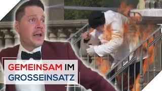 Koch in Flammen! Hochzeit eskaliert wegen Gas-Anschlag! | 1/6 | Gemeinsam im Großeinsatz | SAT.1