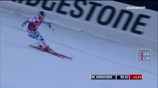 Marcel Hirscher - Zweiter Im Super G Der Kombination Von Santa Caterina 2016