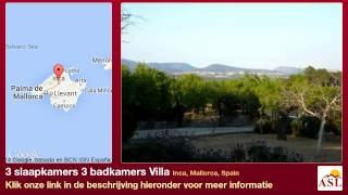 preview picture of video '3 slaapkamers 3 badkamers Villa te Koop in Inca, Mallorca, Spain'