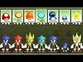 New Super Mario Bros Wii All Sonic Power ups