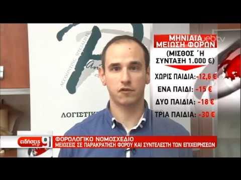 Φορολογικό: Νόμος στο τέλος του Δεκεμβρίου   29/11/2019   ΕΡΤ