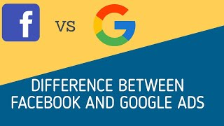 Difference Between Google and Facebook ads | Pay per click Tutorial 2019 | DIGIPIMS NOIDA