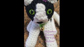 Crochet Quick Easy Beginner Cute Amigurumi Kitty Cat DIY Tutorial