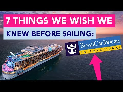 7 things we wish we knew before sailing with Royal Caribbean