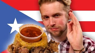 People Taste Test Puerto Rican Food