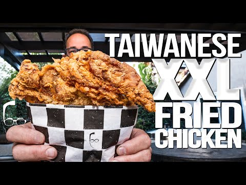 TAIWANESE XXL FRIED CHICKEN (MY NEW FAVORITE) | SAM THE COOKING GUY
