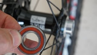 How to Change Bearings in Stans Bicycle Hubs
