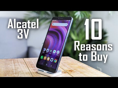 10 Reasons to Buy the Alcatel 3V
