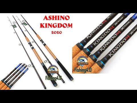 Cần Câu Ashino KINGDOM - New 2020 - Carbon vân caro