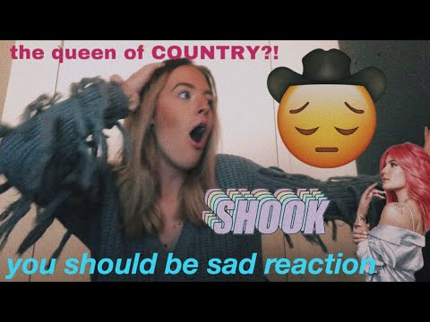 halsey is the queen of country music + you should be sad reaction