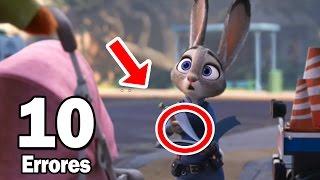 10 Errores Más Increíbles De La Película Zootopia