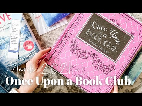 Once Upon a Book Club Unboxing March 2021