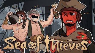 DRUNKEN FOOLS! | Sea of Thieves Beta (w/ H2O Delirious & Ohmwrecker)
