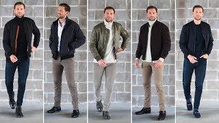 5 Ways To Wear Bomber Jackets This Fall And Winter