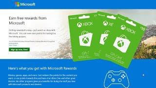 Get Free Stuff with Microsoft Rewards