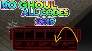 roblox ro ghoul all codes 2019 rc and yen - TH-Clip