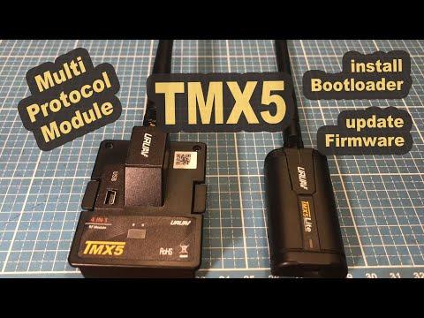Multiprotokoll Module URUAV TMX5 Lite update with Bootloader JP4in1