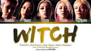 WITCH  (with YEEUN, JIWOO, CHEETAH & HYOYEON)