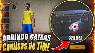 ABRINDO VÁRIAS CAIXAS RARAS DE CAMISAS DE TIME! GANHEI TODAS?