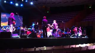 Grind rehearsal at the Sydney Opera House/The Church Band