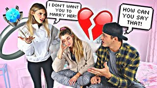 Sister Tells My Fiance He Can't Marry Me...