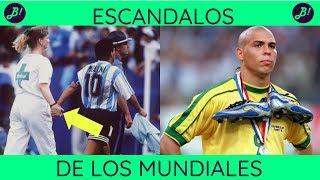 Top 7 Escándalos en los Mundiales