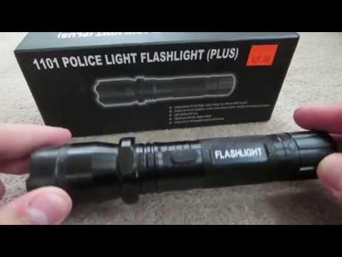 Flashlight Taser Review