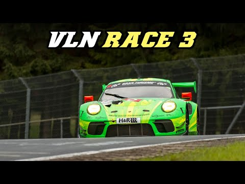 VLN race 3 2019 - Supra mk5, 991.2 GT3-R, M6 GT3, BRZ, RCF GT3, AMG GT3