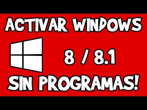 Activar Windows 8/8.1 SIN PROGRAMAS 2018 Mp3