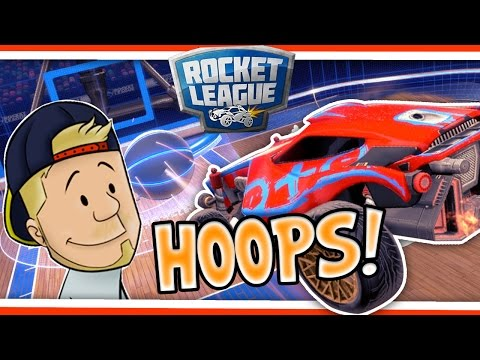 SquiddyPlays - ROCKET LEAGUE HOOPS! W/AshDubh