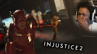 OMGOSH! BEST SCENE FROM THE GAME!! | Injustice 2 #5