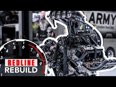Building a Massive 11,000-hp HEMI V-8 Dragster Engine