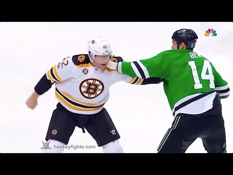 Jamie Benn vs. David Backes