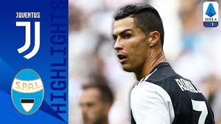 Juventus 2-0 SPAL | Ronaldo Header & Pjanić Strike Win the Game for Juve | Serie A