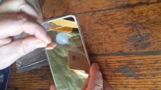 Чехол золотое зеркало для iphone 7 от компании Интернет-магазин-Модной дешевой одежды. - видео