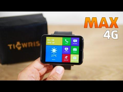Ticwris Max 4G Smartwatch: Die größte 4G\/LTE Smartwatch im Test (Deutsch)
