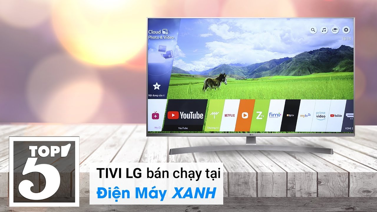 Top 10 Tivi LG bán chạy nhất năm 2018 tại Điện máy XANH