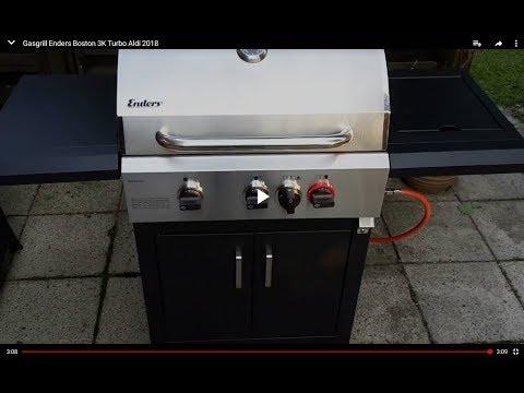 Gasgrill Enders Boston 3K Turbo Aldi 2018 Teil 1