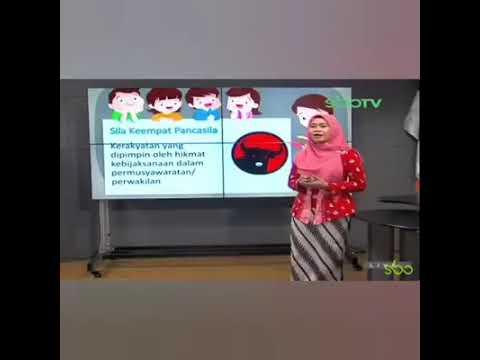 Waduh... Viral Sila Keempat Pancasila Digambarkan dengan Logo PDIP
