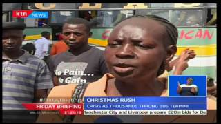 Christmas rush as majority of the passenger unable to board vehicles to upcountry