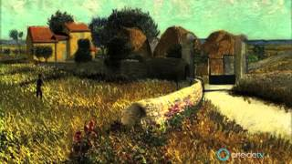 Van Gogh's paintings animated - Les tableaux de Van Gogh renaissent!