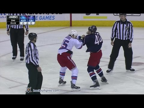Jared Boll vs. Tanner Glass