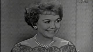 What's My Line? - Jane Wyman; Anthony Perkins [panel] (May 29, 1960)