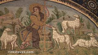 Thumbnail of the video 'Ravenna's Mosaics at a Byzantine Mausoleum and Modern-Day Workshop'