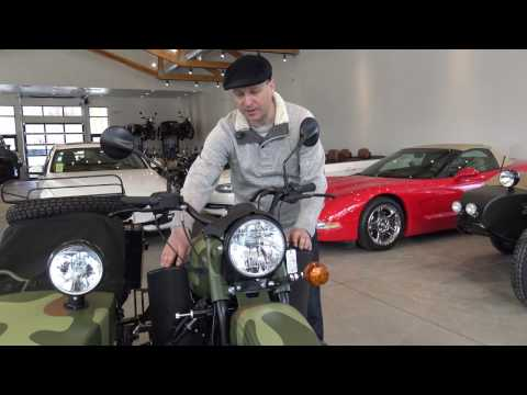 2017 Ural Gear Up, New Features and Highlights