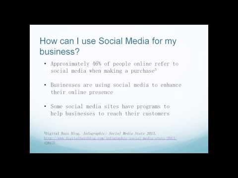 Create My Banners Webinar - Jan 7, 2014 - The Importance of Social Media
