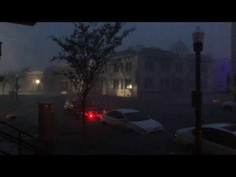 Hurricane Sally floods downtown Pensacola, Florida