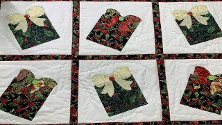 QUILT AS YOU GO TABLE RUNNER | 12 DAYS OF CHRISTMAS🎄