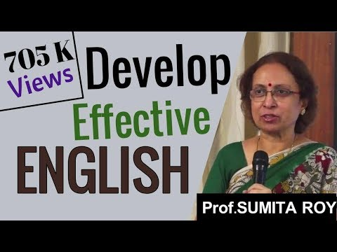 Develop English | Sumita Roy | TELUGU IMPACT Tirupati 2014